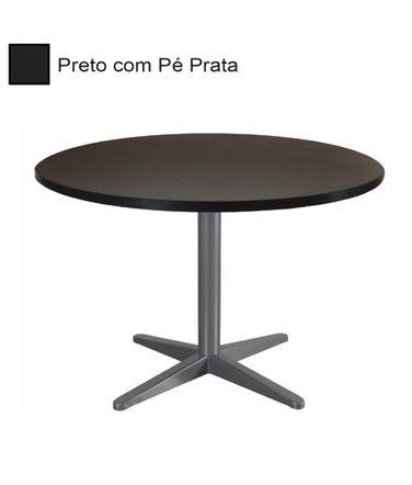 mesa-de-reuniao-redonda-com-pe-prata-alfamob-corporativo-preto
