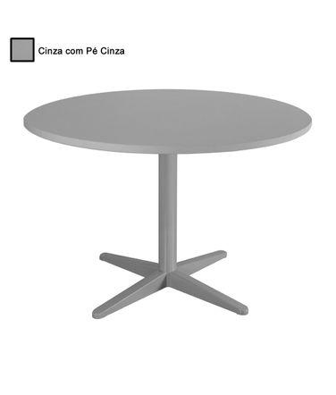 mesa-de-reuniao-redonda-alfamob-corporativo-cinza-com-pe-cinza