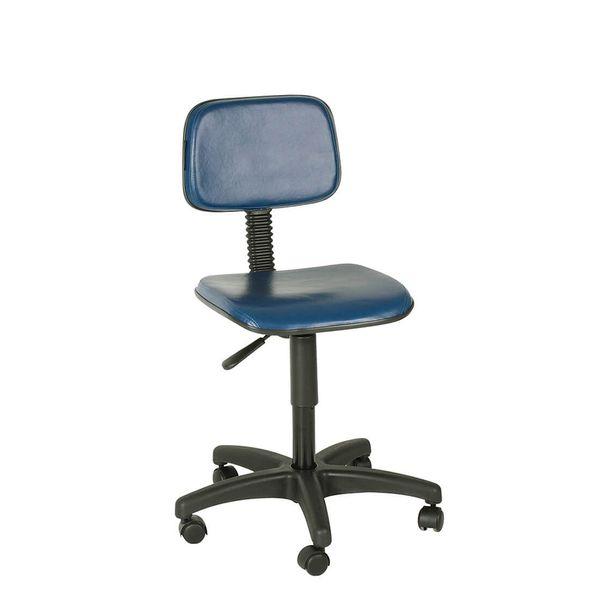 Cadeira-secretaria-giratoria-couro-ecologico-base-preta-sem-braco-Toscana-Preto
